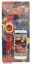 """Набор игровой """"Тачки"""" (часы + телефон) ( 0224-6* )"""