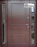 Дверь со стеклом утепленная бронированная в Алматы