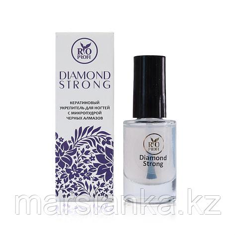 Diamond Strong Кератиновый укрепитель ногтей Rio Profi, 8мл, фото 2