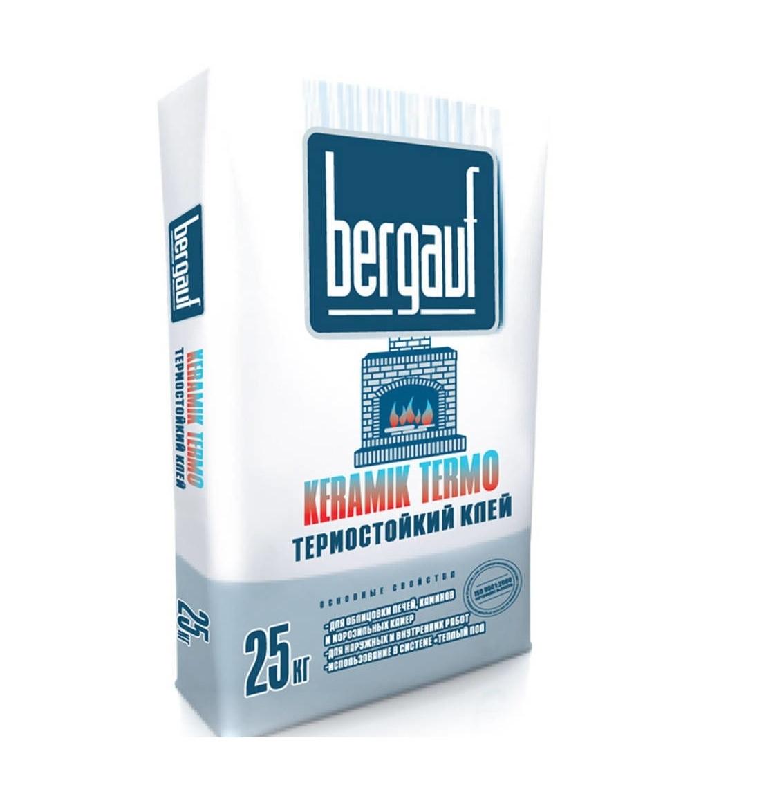 Клей термостойкий Bergauf Keramik Termo
