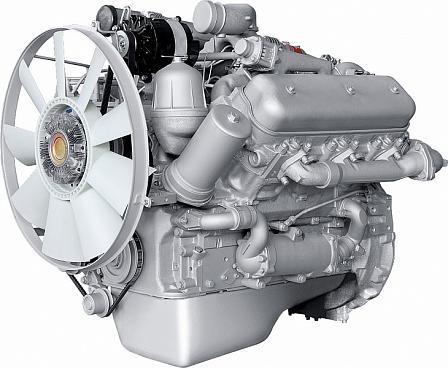 ЯМЗ-236БЕ2 V-образный 6-цилиндровый дизельный двигатель