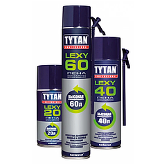 Пена монтажная всесезонная Tytan Professional Lexy 60