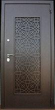 """Входная дверь """"Щит-эксклюзив"""" с элементами лазерной резки"""