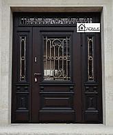 Двери металлические с ковкой в Алматы