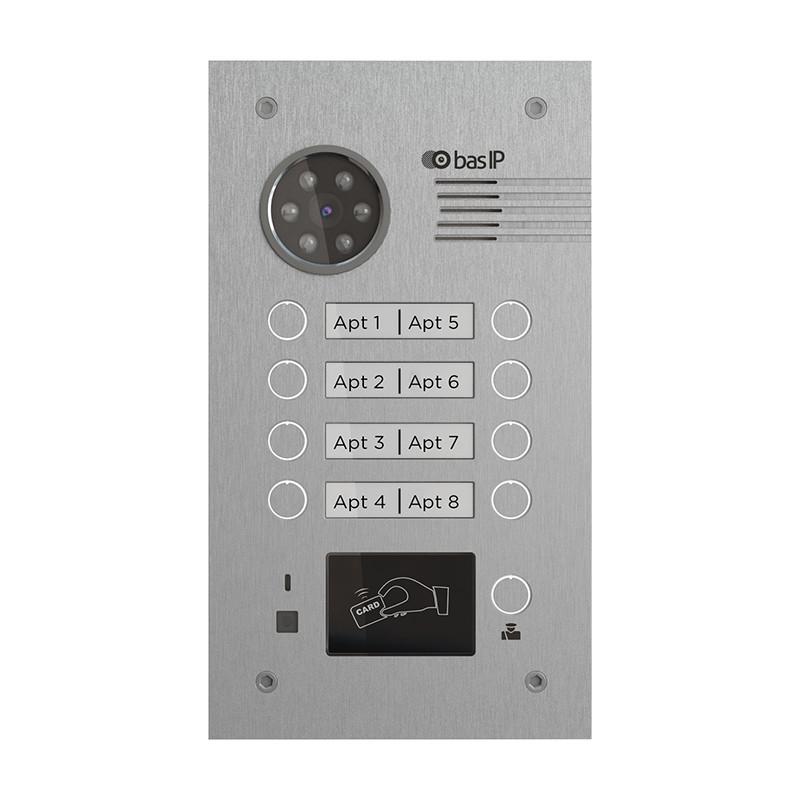 Вызывная панель на 8 абонентов BA-08BD SILVER