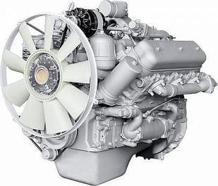 ЯМЗ-236БК V-образный 6-цилиндровый дизельный двигатель