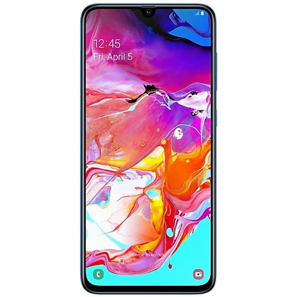 Смартфон Samsung Galaxy A70 128Gb Blue (SM-A705FZBUSKZ)