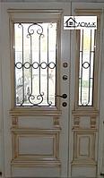 Двери железные с ковкой на заказ в Алматы
