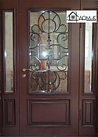 Двери входные на заказ с ковкой и стелопакетом