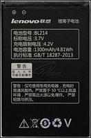 Заводской аккумулятор для Lenovo A316i/A208/A218/A269 (BL-214, 1300mAh)