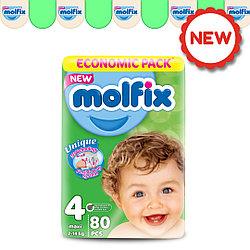 Подгузники детские Molfix GIGA №4 MAXI (7-14 кг), 80 шт.