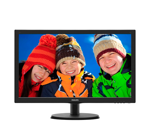 "Монитор PHILIPS 223V5LHSB/01 Black (21.5"")"