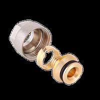 Соединитель 20х3/4 Valtec Евроконус для PEX трубы VT.4410.NVE.20
