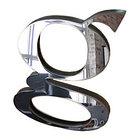 Серебрянный зеркальный листовой акрил (3мм) 1,22мХ2,44м, фото 2