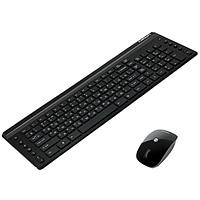 Клавиатура беспроводная + Мышь Crown CMMK-951W USB, черная