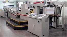 Выборочная УФ/ВД-лакировальная машина  USTAR-102С  формат В1 : 800×1100мм,  до 8800 л/час, 4-валковая