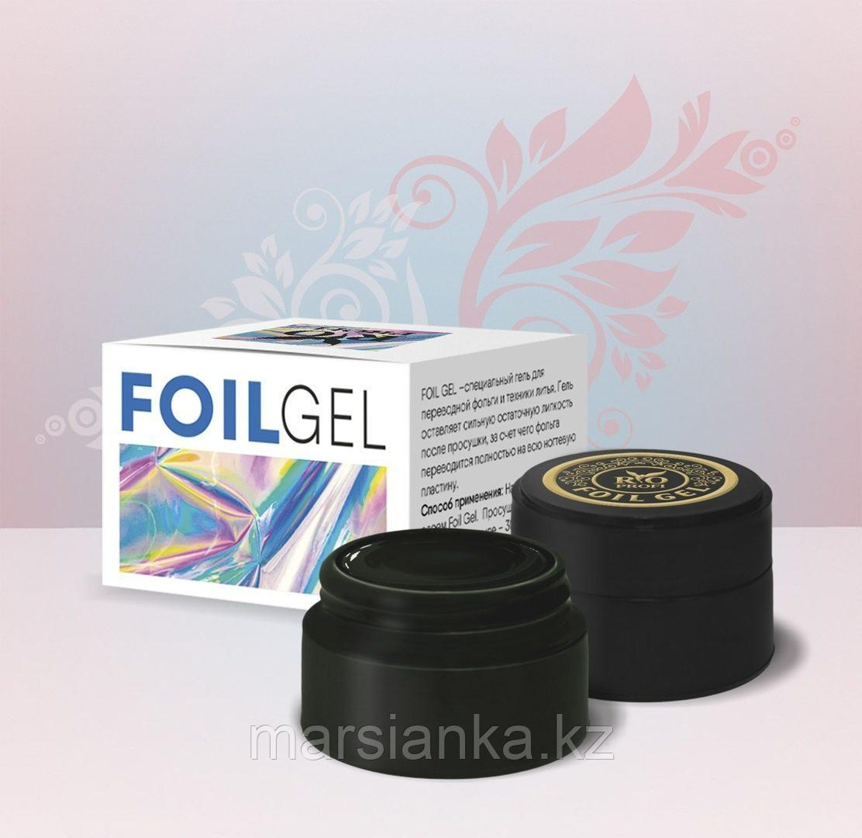 FOIL GEL Гель для переводной фольги и техники литья, прозрачный Rio Profi, 7 гр