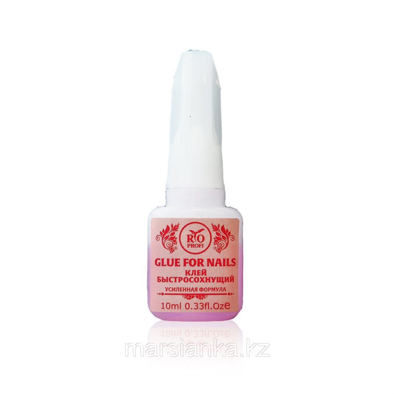 Клей для страз и типс Розовый Усиленная формула Rio Profi, 10 мл
