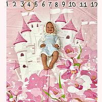 Пледы для фотосессии, выписки и укрывать с рождения до 3 лет