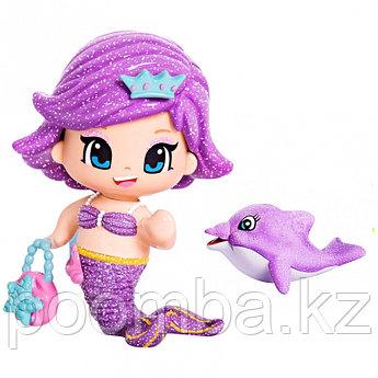 "Кукла ""Пинипон"" - Русалочка, фиолетовая"