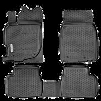 Коврик в салон Mazda CX-9 (07-)(3 ряда сидений) (полимерный) L.Locker