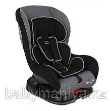 Автокресло 0-18 кг BAMBOLA Bambino черный/серый