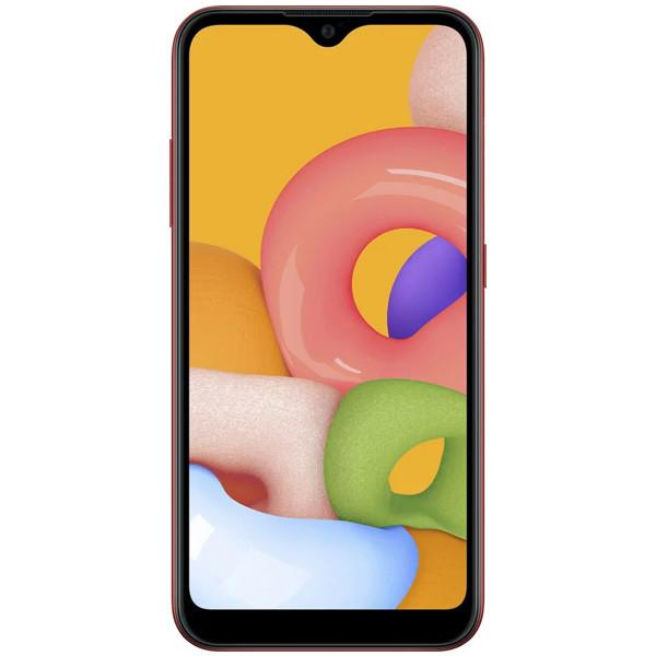 Смартфон Samsung Galaxy A01 Red (SM-A015FZRDSKZ)