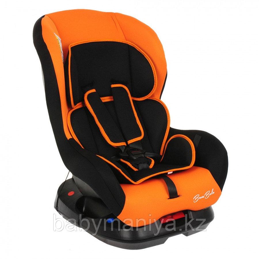 Автокресло 0-18 кг BAMBOLA Bambino чёрный/оранжевый