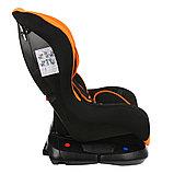 Автокресло 0-18 кг BAMBOLA Bambino чёрный/оранжевый, фото 2