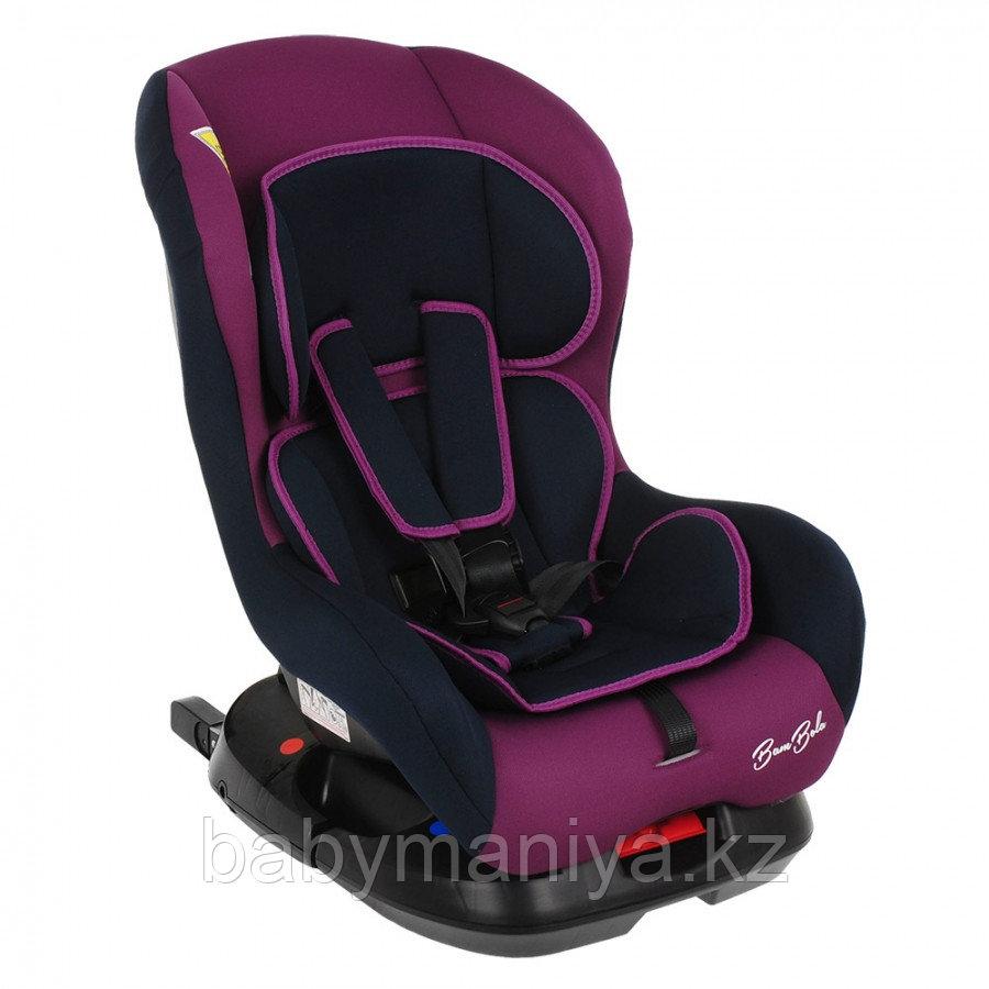 Автокресло 0-18 кг BAMBOLA BAMBINO ISOFIX фиолетовый/синий