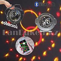 Диско-шар светодиодный подвесной LED Festival snowflake lamp с функцией bluetooth и mp3