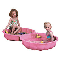 Детская двойная песочница Ракушка 760 розовый, фото 1