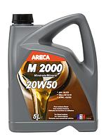Моторное масло ARECA 20W-50 5 литров