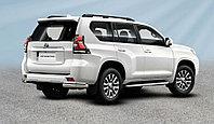 Уголки d76+d42 двойные Toyota Land Cruiser Prado (2017-20)