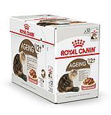 Корм Royal Canin Ageing 12+ для стареющих кошек старше 12 лет (в Соусе) - 12 x 85 г