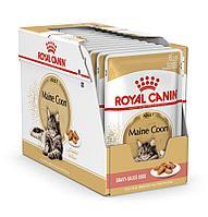 Корм Royal Canin Maine Coon Adult для взрослых кошек Мейн-кунов (в Соусе) - 12 х 85 г