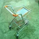 Тележка-подставка для корзин металлическая, фото 2