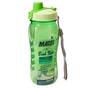 Бутылка питьевая для воды с поилкой MATSU [350, 500, 1000 мл] (Зеленый / 500 мл)