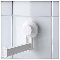 ТИСКЕН Держатель туалетн бумаги н/присоске, белый, фото 1