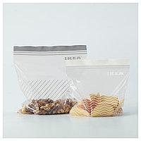 ИСТАД Пакет пластиковый, серый/белый, фото 1