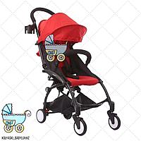 Детская прогулочная коляска Babytime red