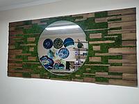 Фитопанно на стену с Зеркалом