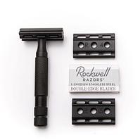 6S Rockwell Razor (двусторонняя бритва из темной нержавеющей стали)