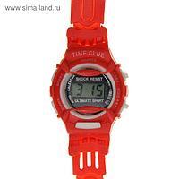 """Часы наручные детские """"Баловень"""", ремешок силикон, микс, l=20 см"""