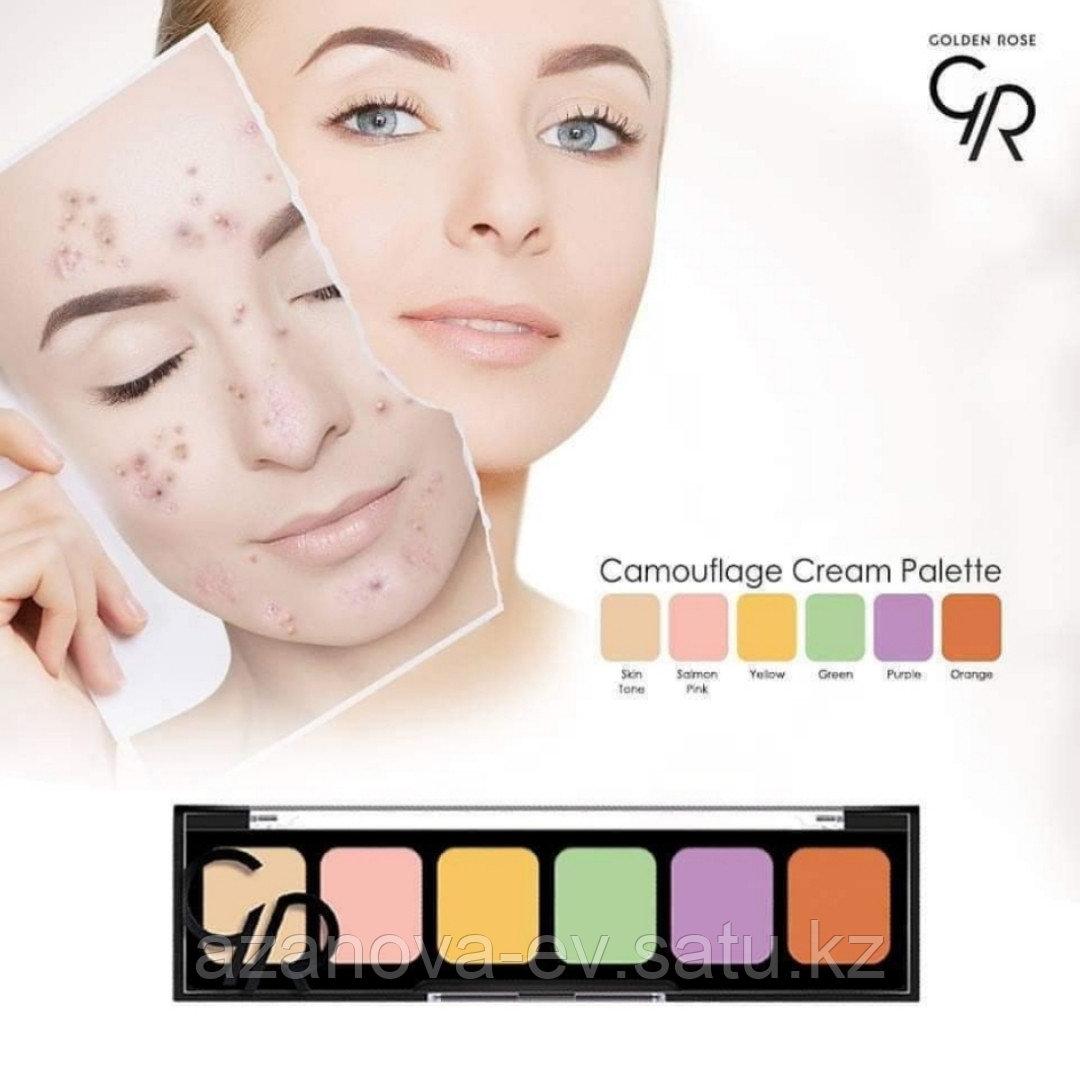 Набор корректоров для лица  Comouflage Cream Palette