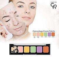 Набор корректоров для лица  Comouflage Cream Palette, фото 1