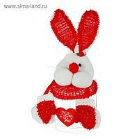 Подарочная упаковка «Зайка», с лапками и сердечком, виды МИКС
