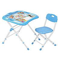 Комплект детской мебели Ника Азбука в кругу друзей стол+стул NKP2/1, фото 1