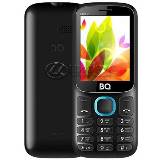 Мобильный телефон BQ-2440 StepL Black+Blue