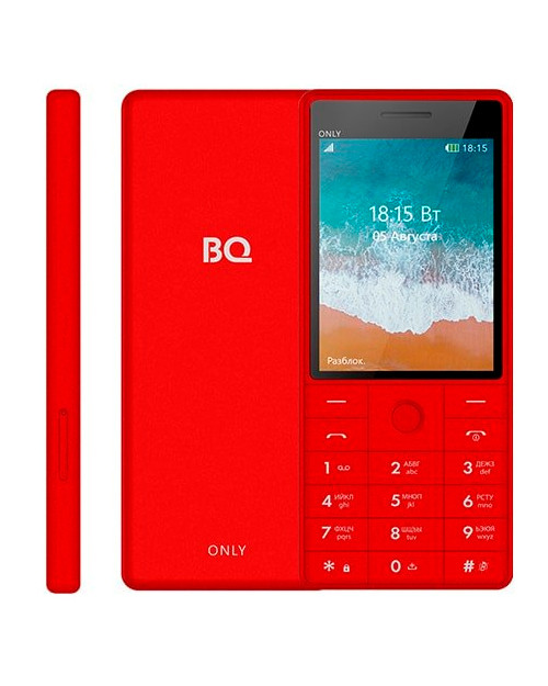 Мобильный телефон BQ-2815 Only Красный